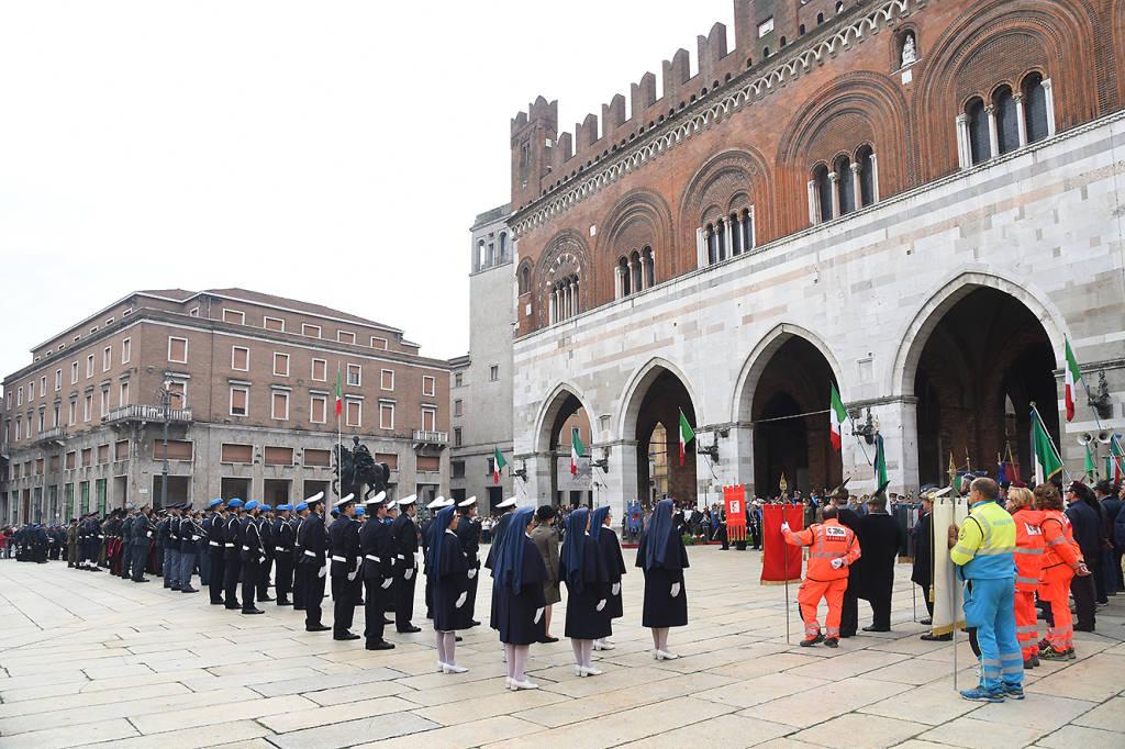 Celebrazioni 4 Novembre a Piacenza