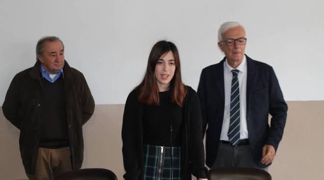 Clarissa Facchini riceve la Borsa di studio Beltrametti