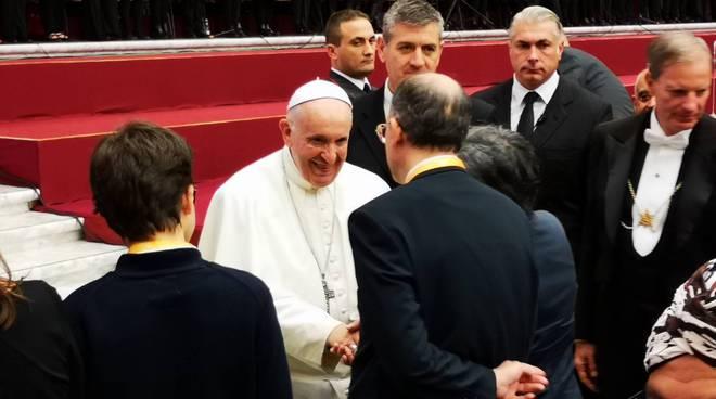 Coro Vallongina in Vaticano