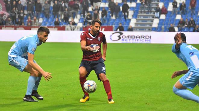 Davide Zuccolini al Mapei Stadium (Foto Ufficio stampa Reggio Audace)