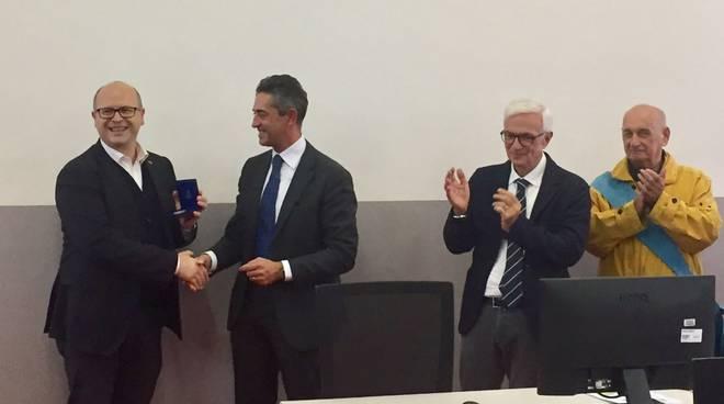 Filippo Perini con Confindustria