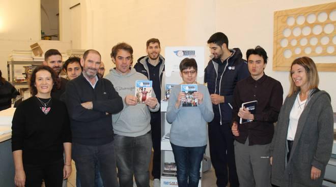 I quaderni e le agende di Officine Gutenberg per Gas Sales Volley