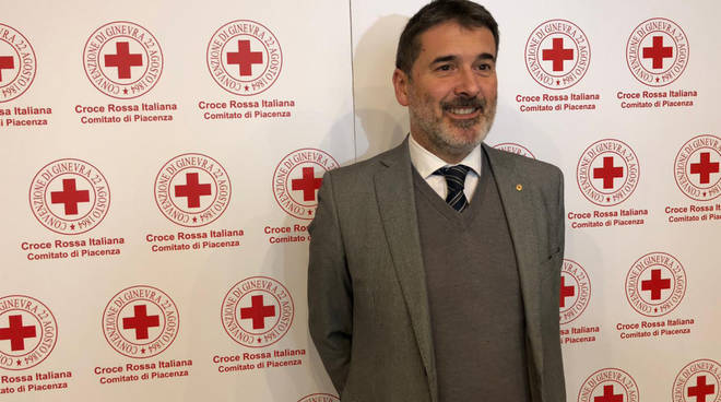 Il commissario di Croce Rossa Alessandro Guidotti