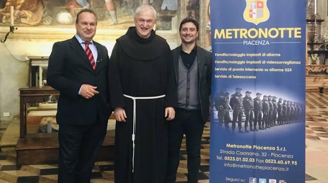 Il dono  di Metronotte Piacenza