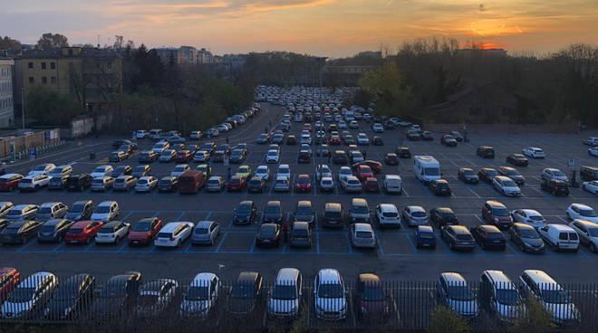 Il parcheggio di viale Malta