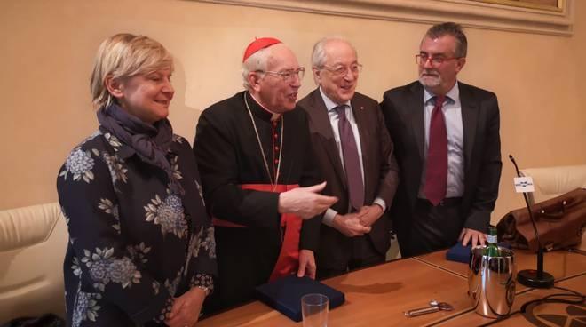 Il ricordo di Agostino Casaroli con il cardinale Re