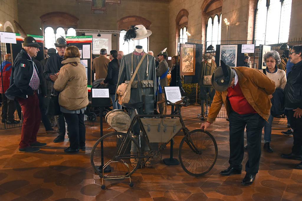 Inaugurazione Mostra sulla Grande Guerra a Palazzo Gotico