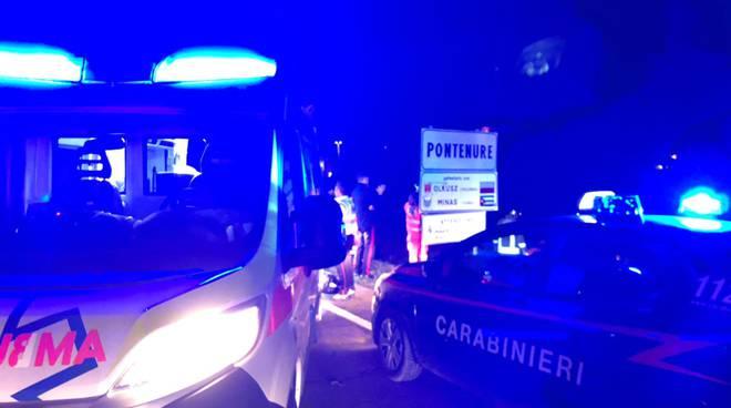 incidente notte a Pontenure