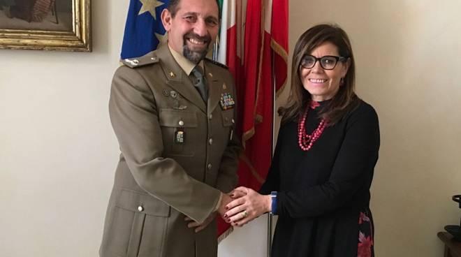 Incontro tra Patrizia Barbieri e Sergio Santamaria
