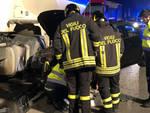 L'incidente sulla via Emilia