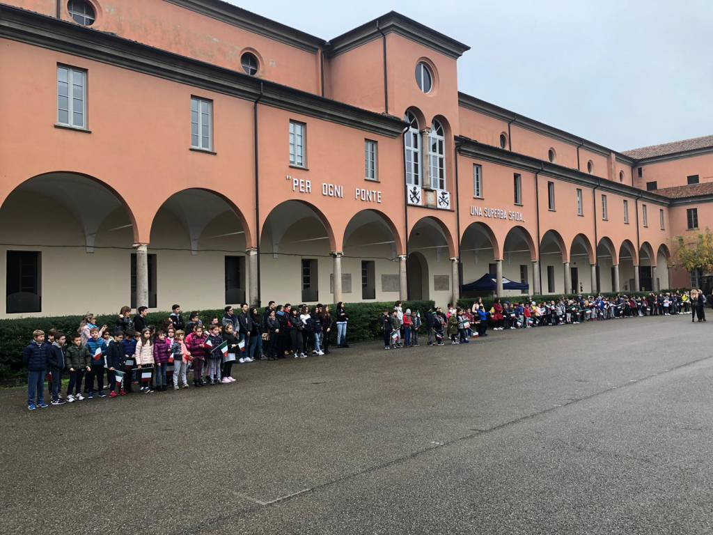 La cerimonia del Genio Pontieri alla Caserma Nicolai
