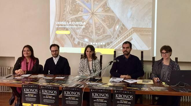 La conferenza stampa Museo Kronos