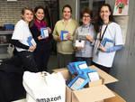 La donazione Amazon alla scuola Calvino