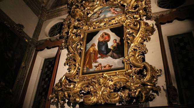 La Madonna Sistina in 3d