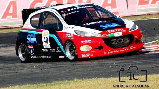La Peugeot di Christian Bussandri (Foto Andrea Calsolaro)