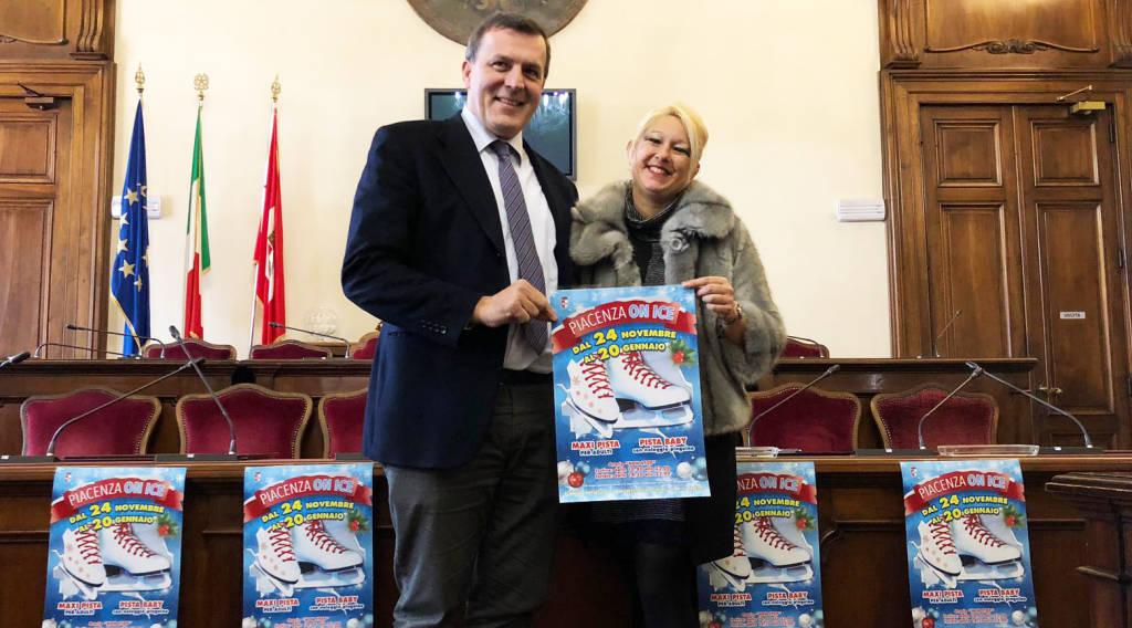 La presentazione di Piacenza on Ice