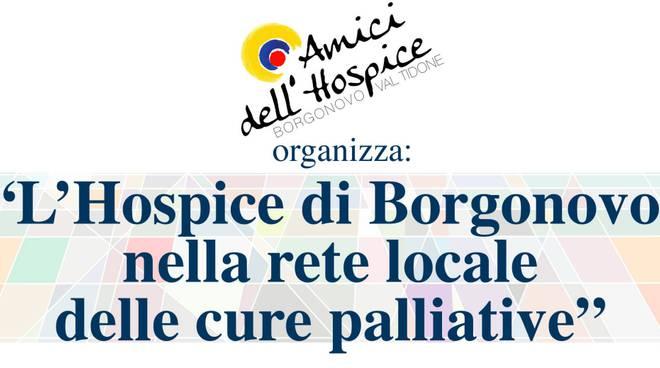 Locandina serata hospice Borgonovo