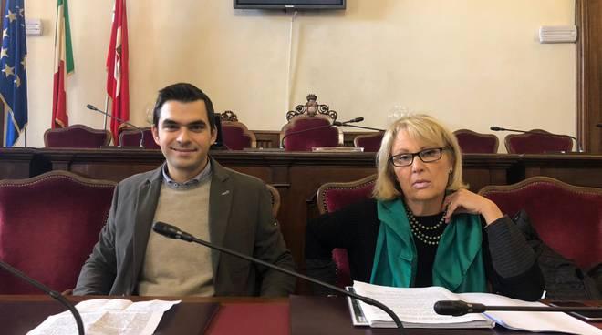 Luca Zandonella e Manuela Moreni