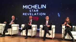 Patrizia Barbieri alla presentazione della Guida Michelin