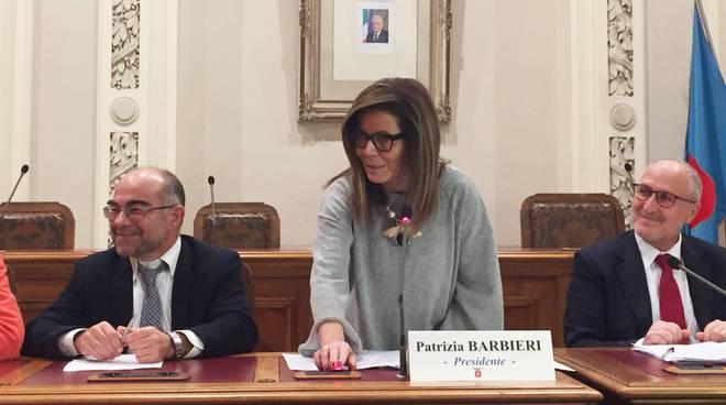 Patrizia Barbieri in consiglio provinciale