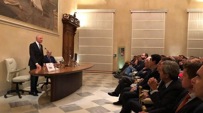 Patuelli alla Banca di Piacenza