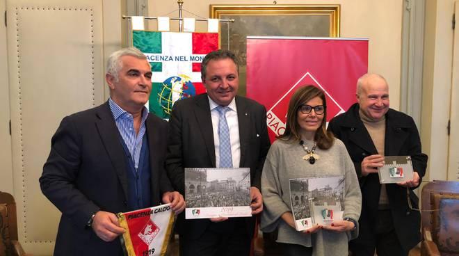 Piacenza calcio partner dell' associazione in tutto il mondo