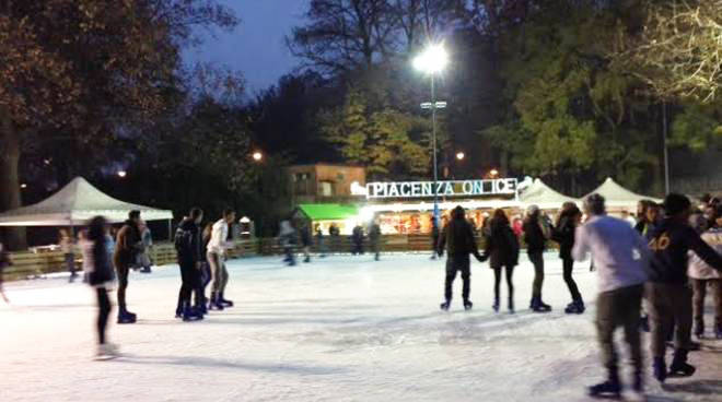 Piacenza On Ice - Pista pattinaggio
