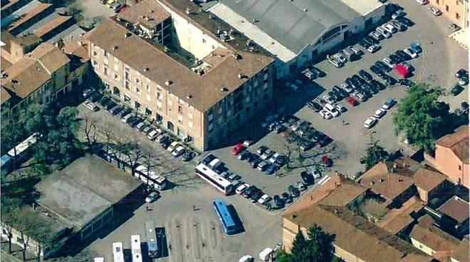Piazza Cittadella dall'alto