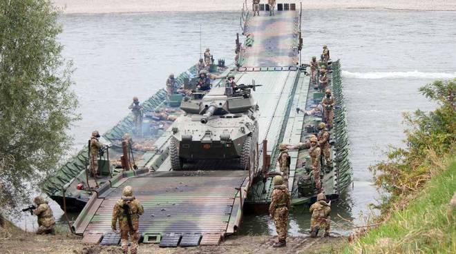 ponte galleggiante Pontieri Po