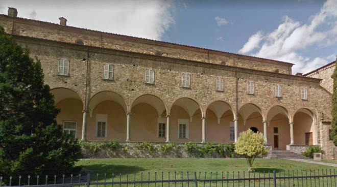 Portico Abbazia San Colombano (Bobbio)