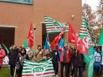 sciopero dei medici a Bologna il sit in