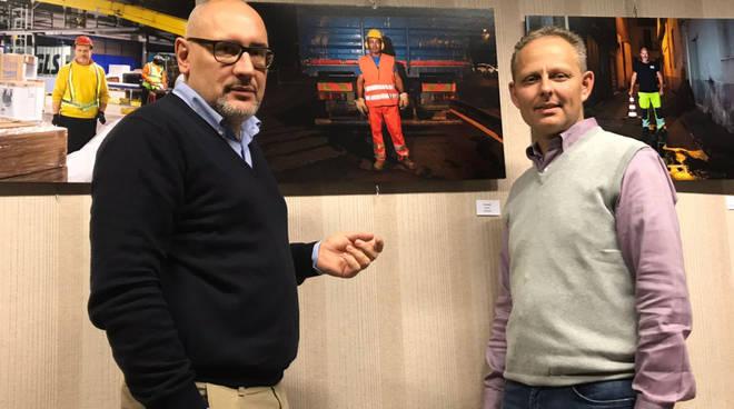 Sergio Ferri (a sinistra) con Ivo Bussacchini