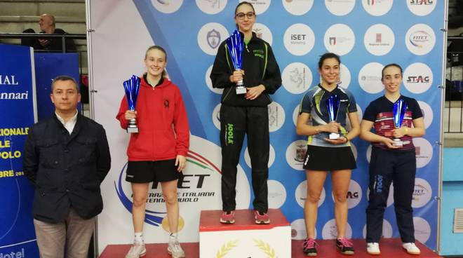 Arianna Barani sul podio di Terni