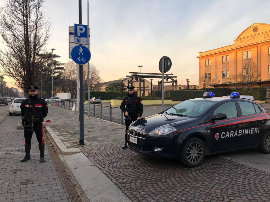 carabinieri posto di blocco a natale 2018