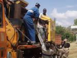 Collaboratori ugandesi di Africa Mission al lavoro