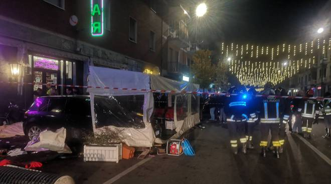 Incidente mortale in viale Dante