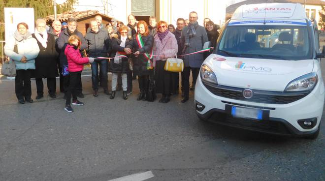 La consegna del Doblò a Gragnano