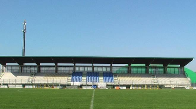 """Lo stadio """"Mazzola"""" di Santarcangelo di Romagna"""