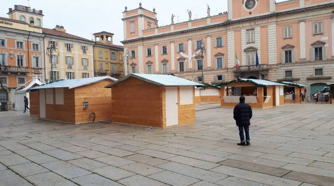 mercatino Natale 2018 in Piazza Cavalli