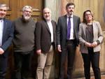Nella foto Claudio Canali; Vittorio Guberti, Gian Mario De Mia; Andrea Gavinelli; Giovanna Parmigiani