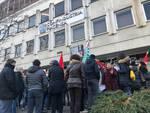 presidio Selta davanti a Confindustria