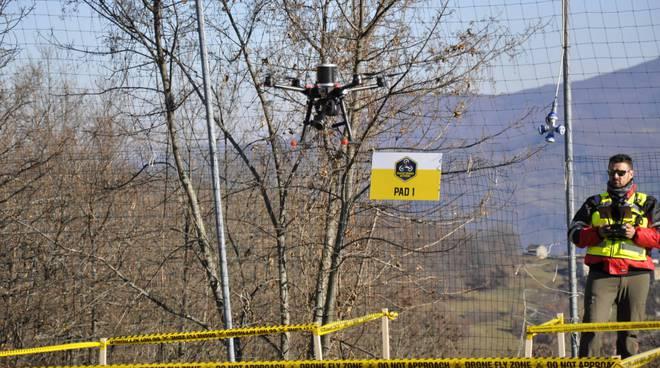 Rescue Drone Network a Farini