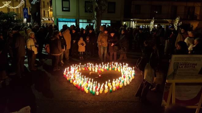 sit-in basta logistica a Piacenza