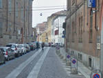 Via Castello a Piacenza