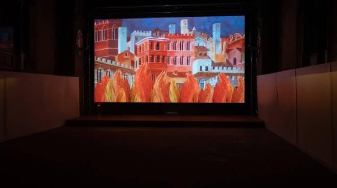 Video-installazione discesa al pozzo di S. Antonino