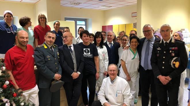 Visita al reparto di Oncologia