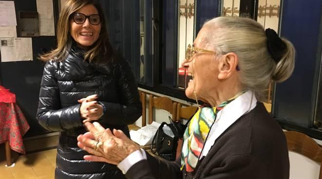 Visita dei circoli anziani del sindaco Barbieri e assessore Sgorbati