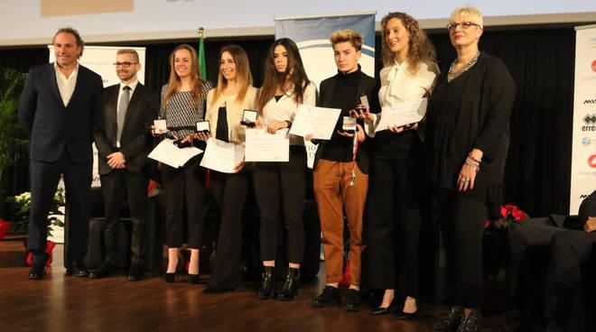 Zanardi e Collinelli premiate al Giro d'Onore