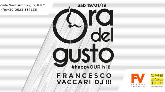 HappyOUR con Francesco Vaccari Dj