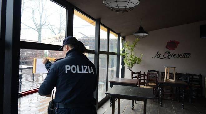 chiusura della Chiesetta della polizia